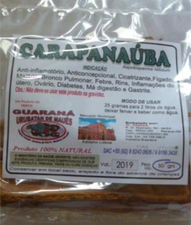CARAPANAÚBA DESIDRATADA - 50g