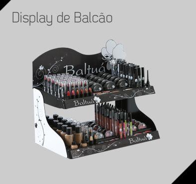 Expositor de Balcão com 500 itnes unidade por R$ 2,99   - Expositor Balcão
