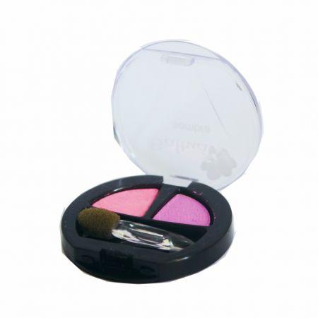 Sombra Dou Rosa e Lilas - 140 Cores Marcantes Para Um Olhar Penetrante