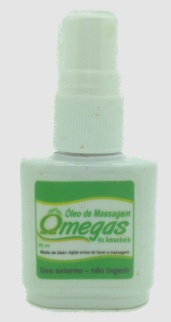 ÓLEO DE MASSAGEM ÔMEGAS - 30g