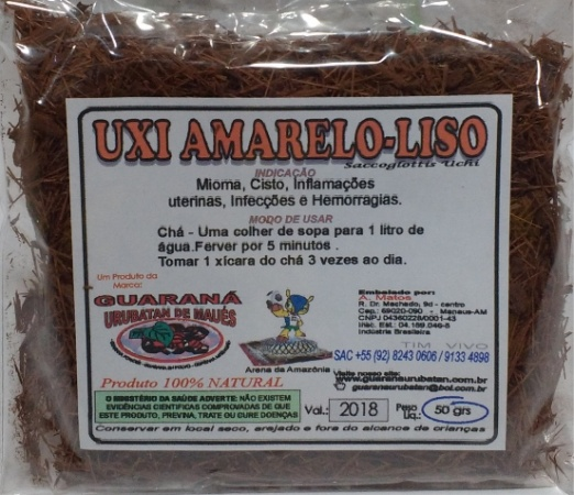 UXI AMARELO LISO EM RAMA - 50g