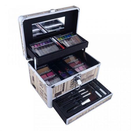 Maleta com Kit de Maquiagem Completo ... Promoção 3x 121,66 ou ávista