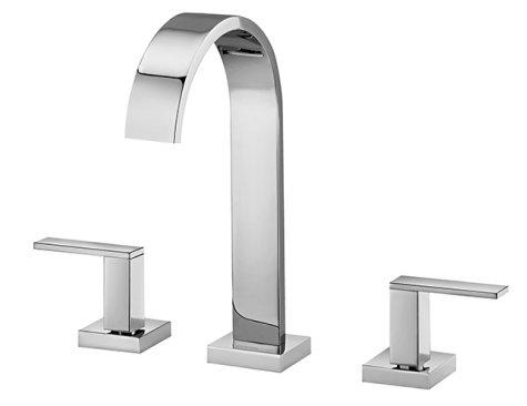 Linha Square -  Misturador para lavatório de mesa