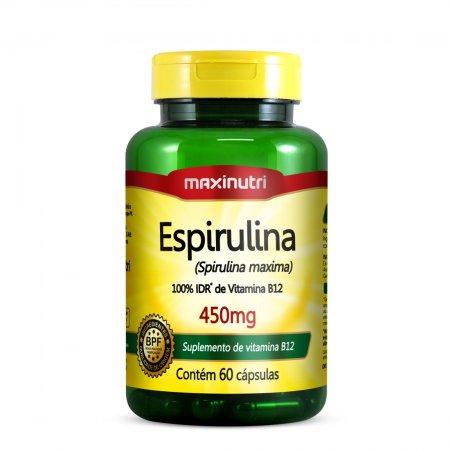 Espirulina 450mg C/60 Caps