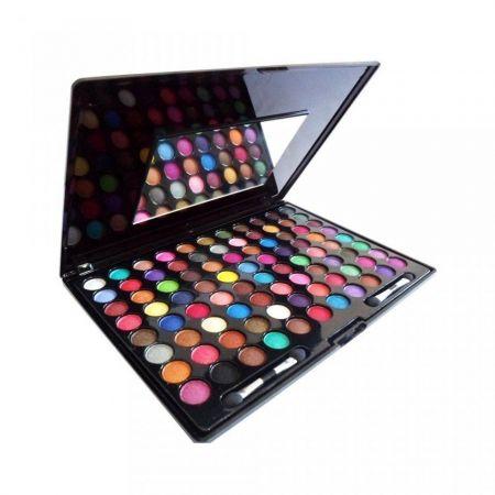 Estojo Sombras 3D 88 cores - 2079 Variações de cores para todo tipo de pele