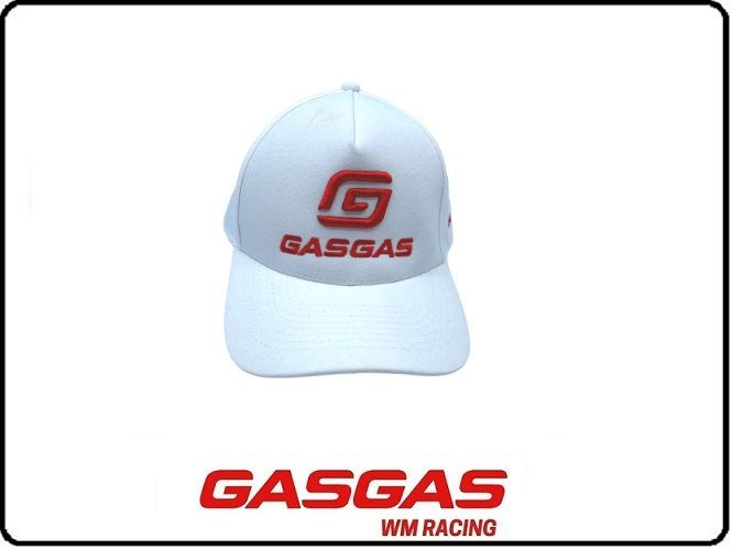 BONE CURVADO GASGAS BRANCO (3GG210036...