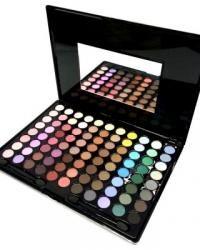 Paleta Super Eyes Sombras Cintilantes com 88 cores - L612 Paleta de sombras