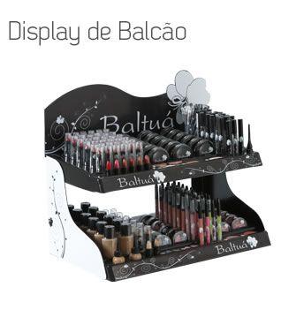 Expositor de Balcão Baltuá 500 produtos variados Display Gratuito Display