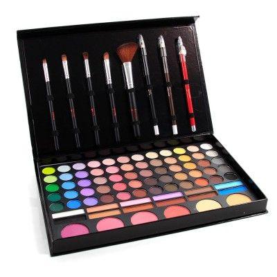 Kit de Maquiagem com Sombras Foscas e Cintilantes - L248