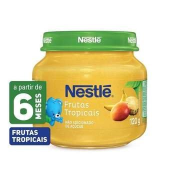 Nestlé Papinha Frutas Tropicais 120g