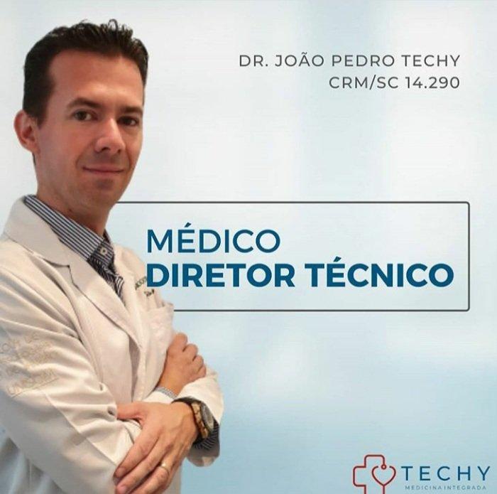 João Pedro Techy  CRM/SC 14290  Méd...