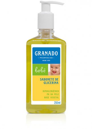 Sabonete Liquido Granado Bebe Tradicional 250ml