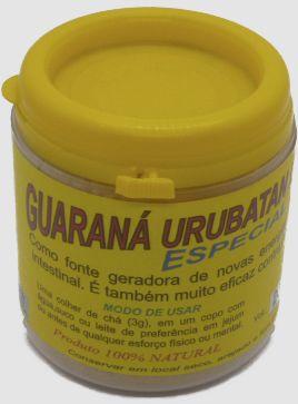 <p>GUARAN&Aacute; EM P&Oacute;</p> - guarana em pó 150g