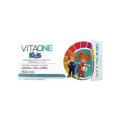 VitaOne KIDS comp Mastigáveis c/60 comp