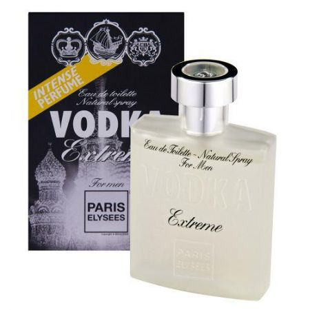 Perfume Vodka Extreme Night- 3012 Inspirado Ferrari Black Contém 100ml+ Brinde Batom Cremoso Perfume Francês Paris Elyses