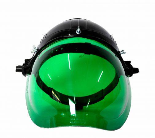 Protetor facial APOLO verde com catraca
