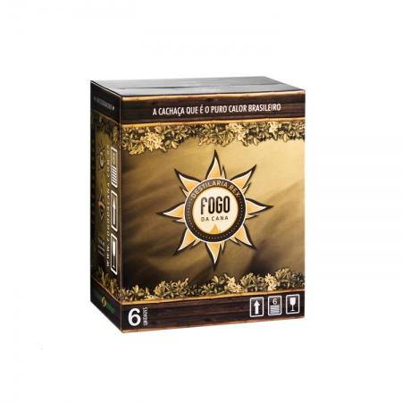 Box Master Ouro 700 ML 6 unidades