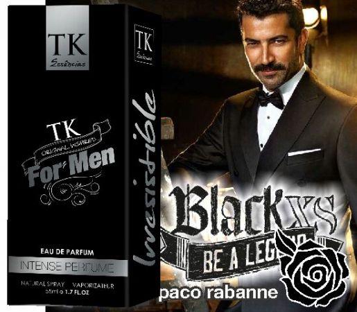 Perfume Classico SK 22 - Inspirado Bl... Contra Tipo Black XS