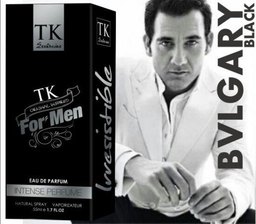 Perfume Classico SK 15 - Inspirado BVLGARI Black 55ML Contra Tipo Bvlgary