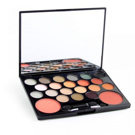 Paleta de Sombra e Blush Divas Luisan... Paleta de maquiagem