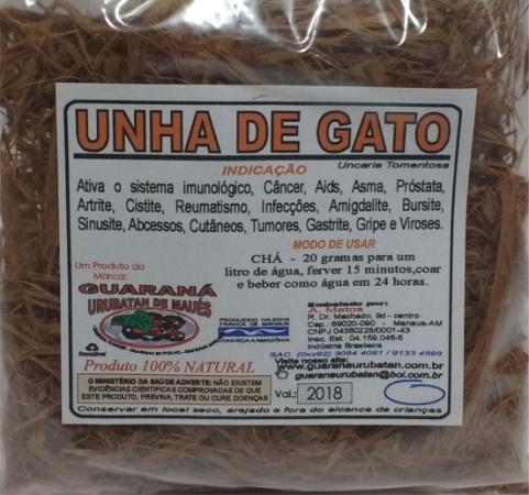 UNHA DE GATO EM RAMA - 50g