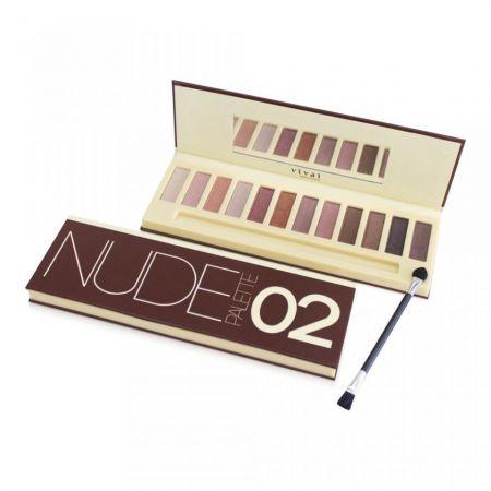 Paleta Sombras Nude Palette Vivai 12 ... Paleta de sombras