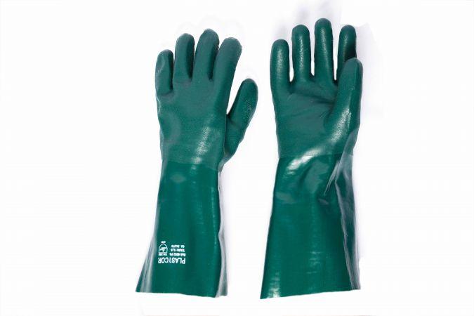 Luva PVC verde