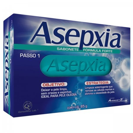 Asepxia Sabonete Antiacne Forte 80g