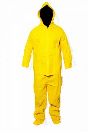 Conjunto pvc amarelo