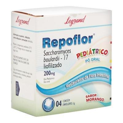 <p>Repoflor 200mg Sache C/4 Envelopes</p>