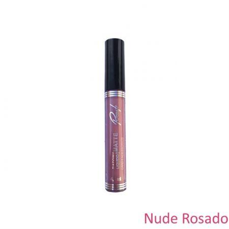 Batom Liquido Matte Nude Rosado Ricosti 4,5ml  Ricosti Nude Rosado