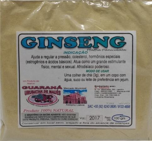GINSENG EM PÓ - 100g