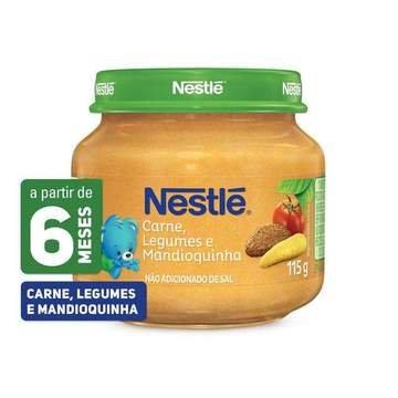 Nestlé Papinha Carne, Legume...