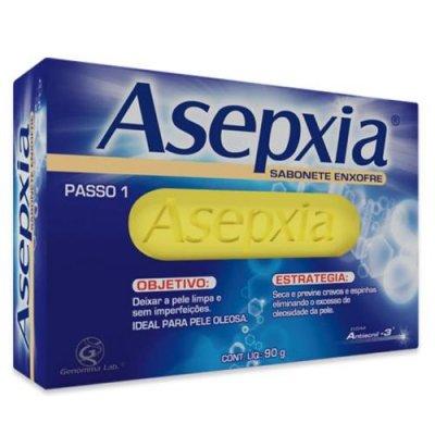 Asepxia Sabonete Antiacne Enxofre 80g
