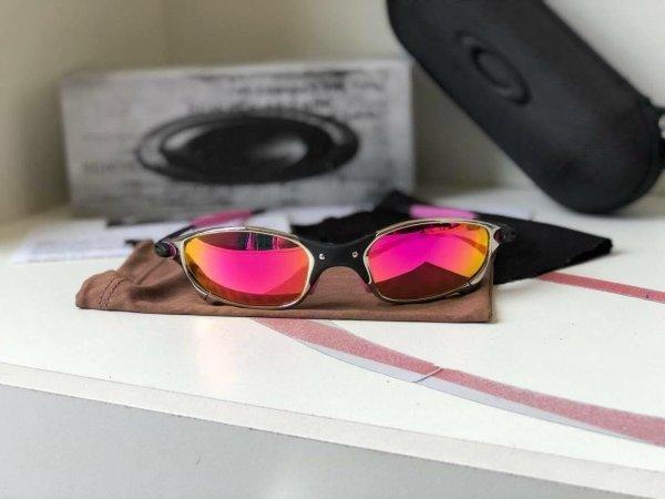 Juliet Tio 2 Pink - Óculos Oakley Unico 1cd58a1ddf
