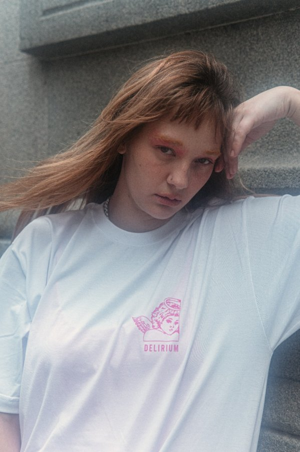 Camiseta Delirium White classic  P