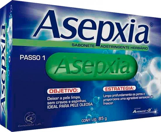 Asepxia Sabonete Adstringente Herbari...