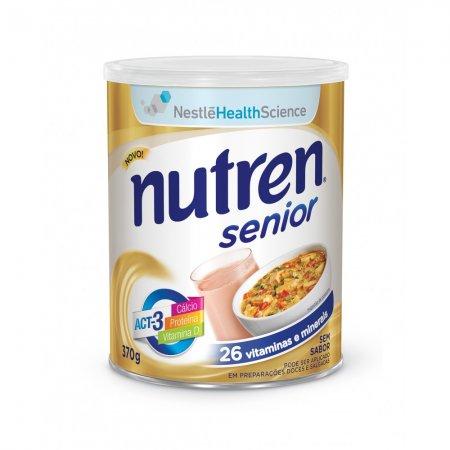 NUTREN SENIOR S/SABOR 370G
