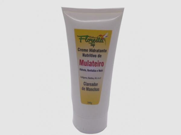 CREME HIDRATANTE NUTRITIVO DE MULATEIRO  -  200g