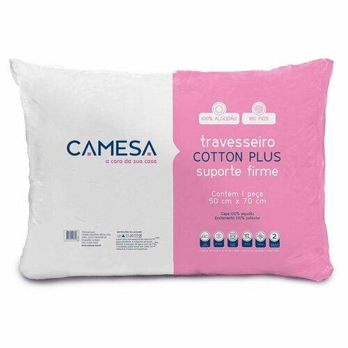 Travesseiro Cotton Plus Suporte Firme