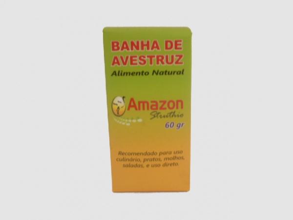 BANHA DE AVESTRUZ - 60g