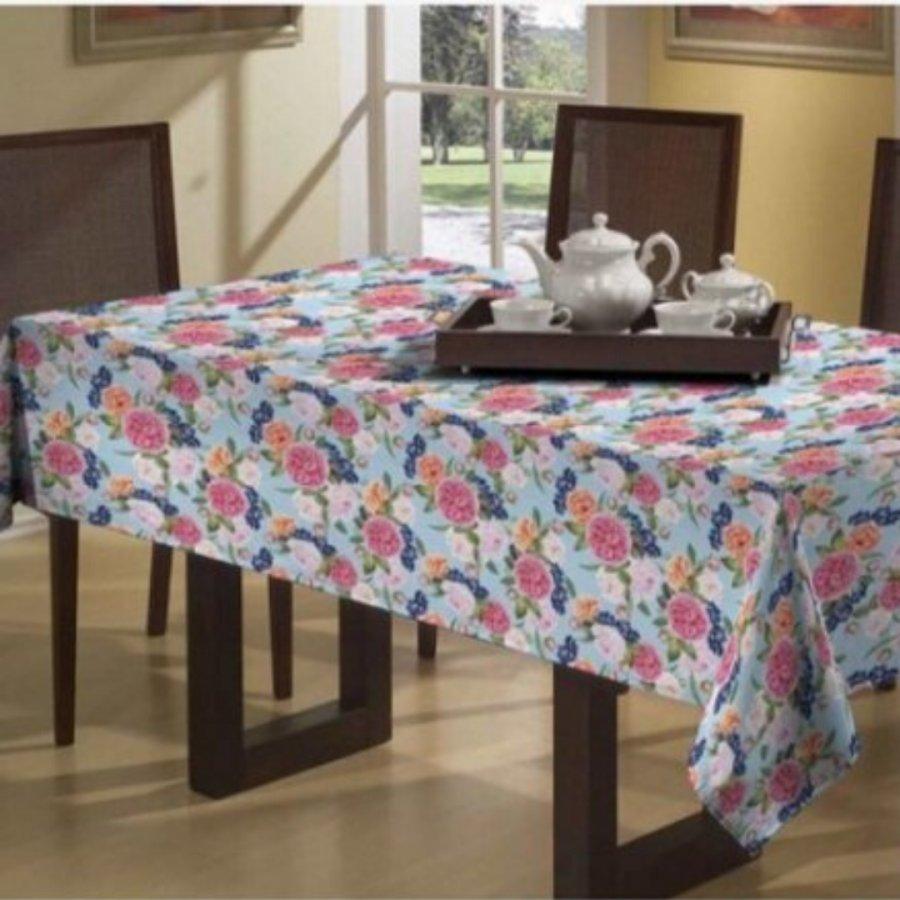 Toalha de Mesa Colore Impermeável 1,... Floral