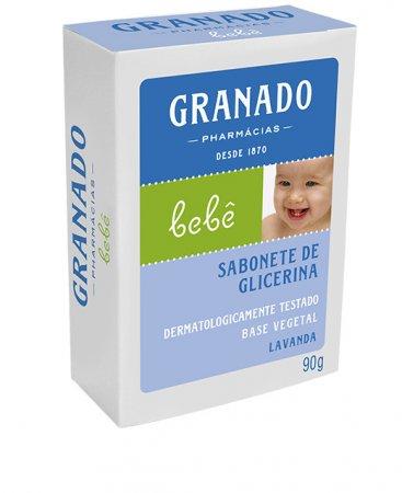 Sabonete Granado Bebe Lavanda 90g