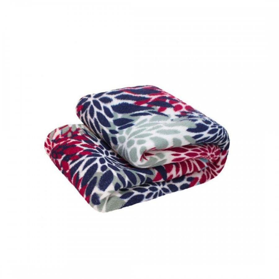 Cobertor Microfibra Solteiro REMIX   FLORAL