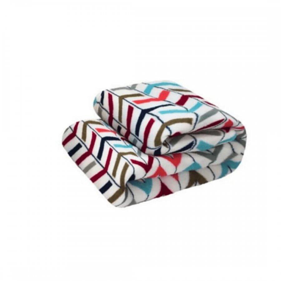 Cobertor Microfibra Solteiro REMIX   BORGONHA
