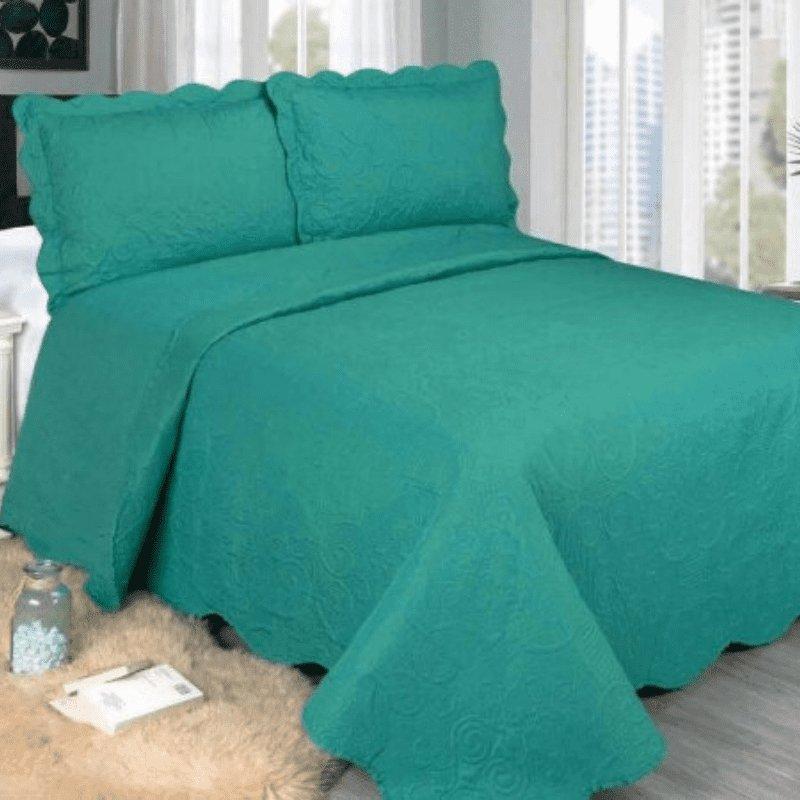 Colcha Barroque Verde Casal GG