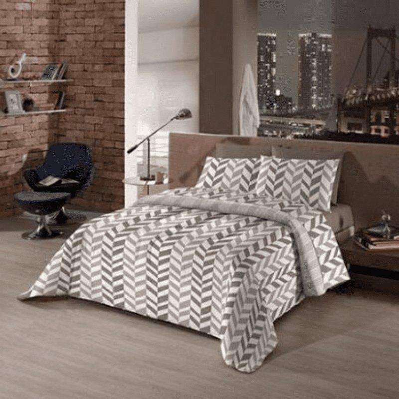 Kit Cama Bed in a Bag  Spada Queen 7 peças
