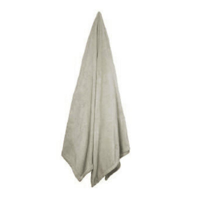 Cobertor Velour Solteiro Bege Solteiro