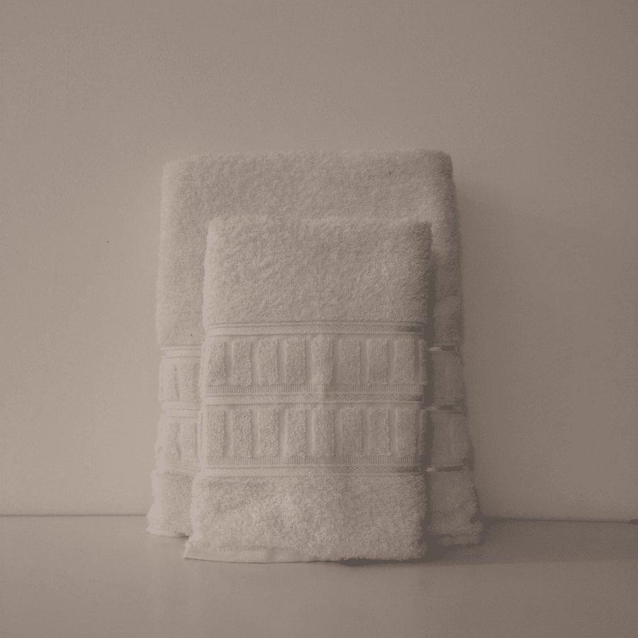 Jogo de Toalha de Banho 2 Peças - Ca... Branco Banho