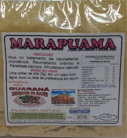 MUIRAPUAMA OU MARAPUAMA EM PÓ - 100g